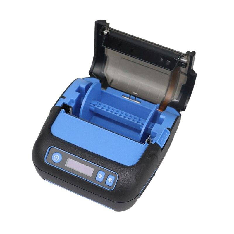 80Mm Portable Bluetooth Thermal Printer Pocket Label Printer Label Maker Receipt Printer For Android/IPhone/POS/ESC Supermarket