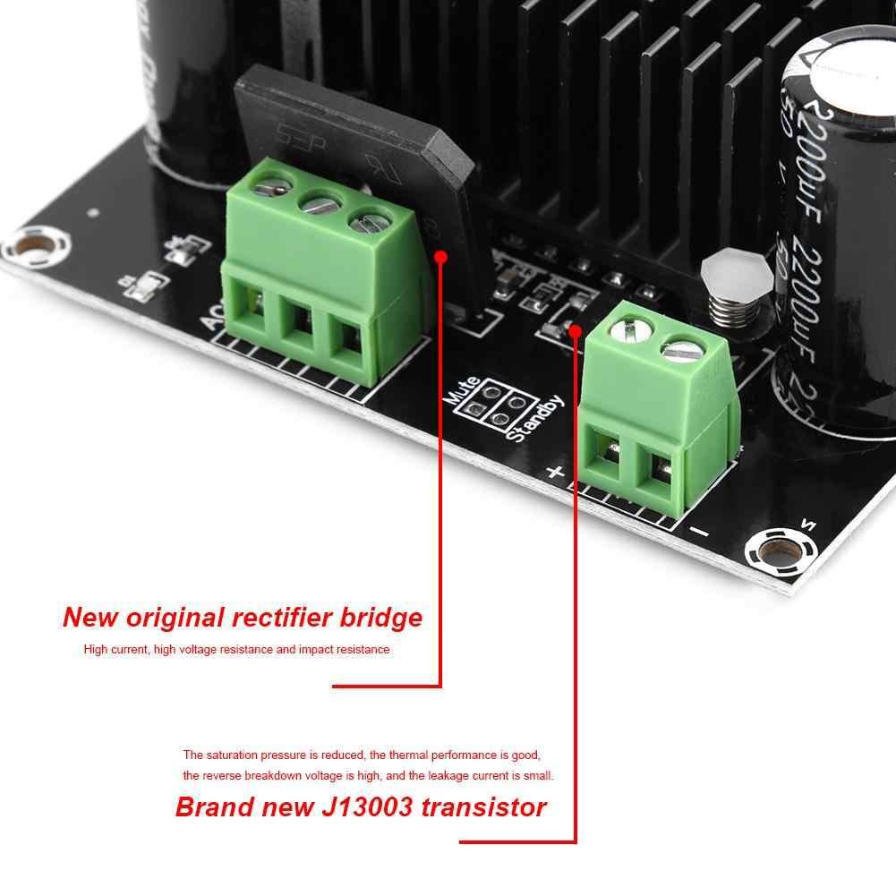 למעלה מכירה HW-717 TDA8954TH Core BTL מצב HIFI Class 420W גבוהה כוח מונו דיגיטלי מגבר לוח 12V-28V