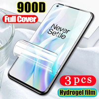 3/2/1Pcs weiche volle abdeckung für oneplus 8T plus 8 7 7T pro Nord n10 N100 Clover 6 6T hydrogel film telefon screen protector Nicht Glas