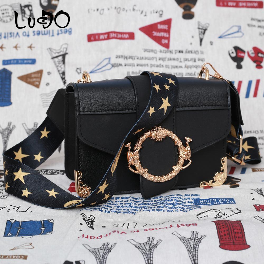 Marca feminina mensageiro saco de ombro de banda larga moda pequena praça bolsa de couro de luxo bolsas designer bolso mujer