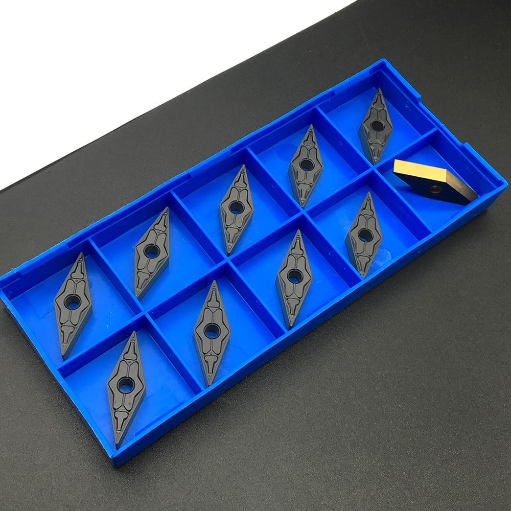 10pcs VNMG160404 TM PC4225 Cutting Lathe CNC Tools Lathe Cutter External Turning Tool Carbide Insert High Quality Turning Tools
