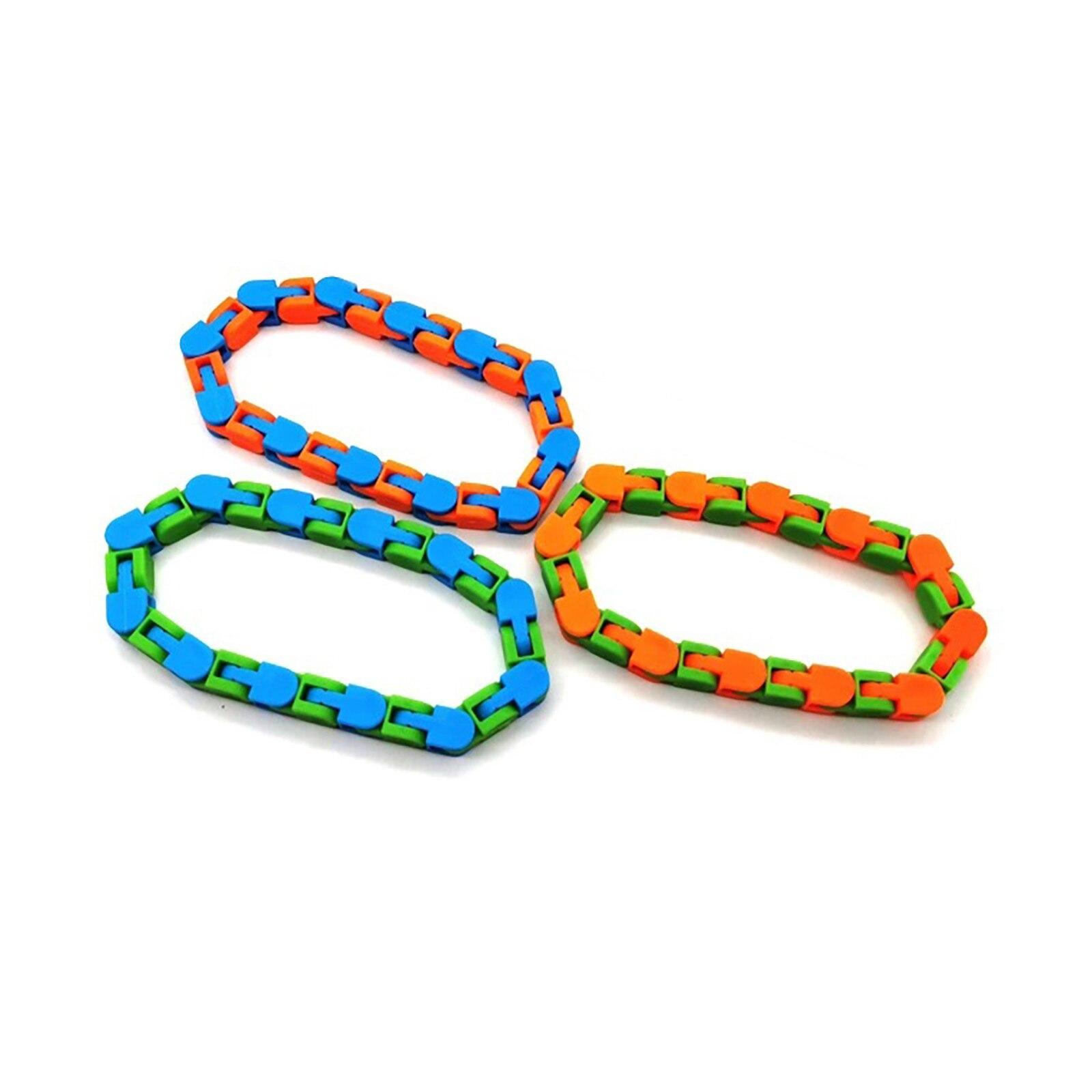 Fidget-Toys Stress Tangle Relief-Rotate Sensory Colorful Shape 24-Bit Puzzle Zabawki img5