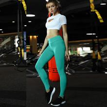 Women Pants Pocket Stitching High-waist Fitness Running Yoga Nine-minute Pants Yoga Leggings Outdoor Sport Trouser Clothes 15 minute fitness