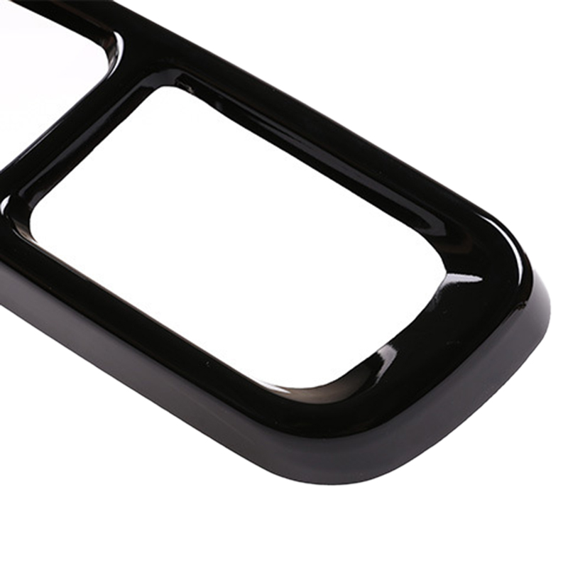 Bright Black Stainless Steel Car Exhaust Pipe Tail Throat Decor Frame Trim Cover Liner Accessories for Bmw 7 Series|Exhaust Manifolds| |  - title=