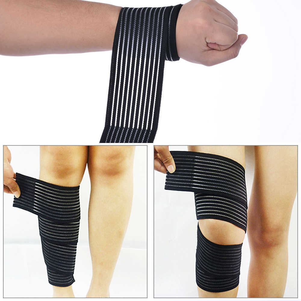 1 Pc Elastic Bandage Compression Knee Support Sports Breathable