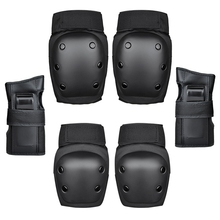 New 6Pcs/Set Knee Pads Elbows Pads Wrist Guards Protective G
