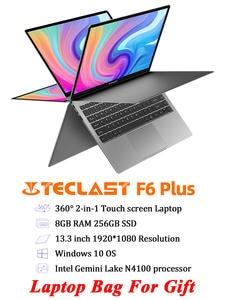 Teclast Intel N4100 Notebook Laptop Touch-Screen IPS Windows-10 Lpddr4-256gb 8GB Plus