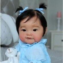 Реалистичная кукла Наоми реборн RBG 20 дюймов, незакрашенная НЕОБРАБОТАННАЯ часть, набор без рисунка «сделай сам», милый подарок, LOL, игрушки д...