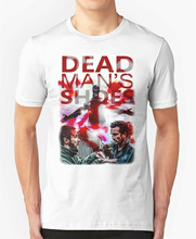 dead man's shoes T-Shirt film hoodie art mans cult movie print Tops Tee Shirt Outfit Casual(China)