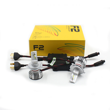 Rockeybright F2 12v 12000lm H4 h7 h8 h9 h11 H16 5202 9005 9006 led kit led headlight 6000k bulb white cars fog light h4 headlamp h4 h7 h8 h9 h11 9005 car headlight 5630 33leds 6000k 800lm bright white daytime running light drl dc 12v fog lamp bulb headlamp