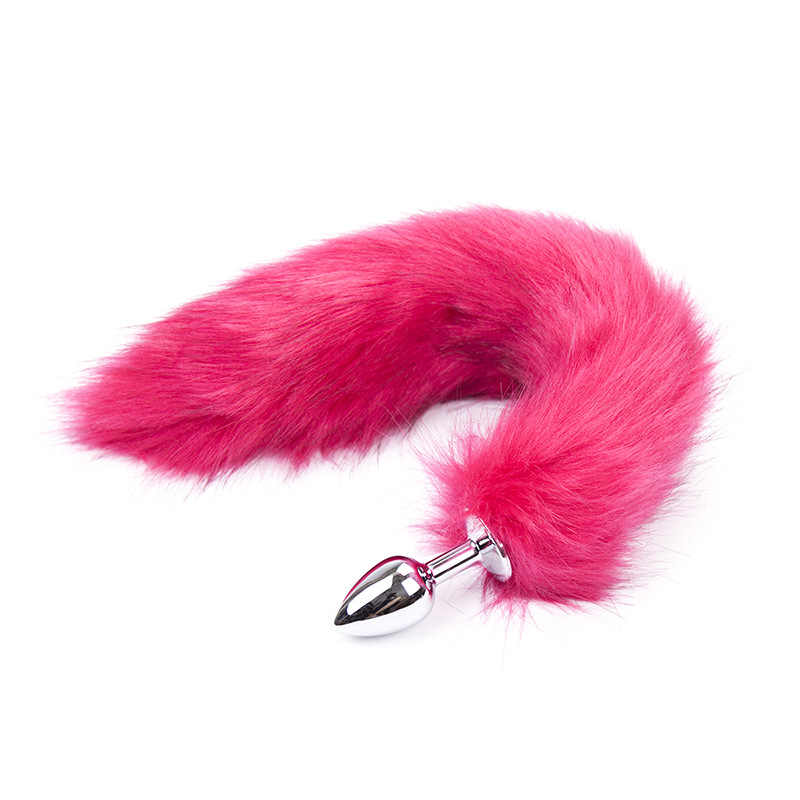 คอสเพลย์ชุดชั้นในเซ็กซี่โป๊ Babydoll ผู้หญิงโลหะ Anus ของเล่น Fox TAIL Anal Plug Body เซ็กซี่ผู้ใหญ่เกมอุปกรณ์เสริม