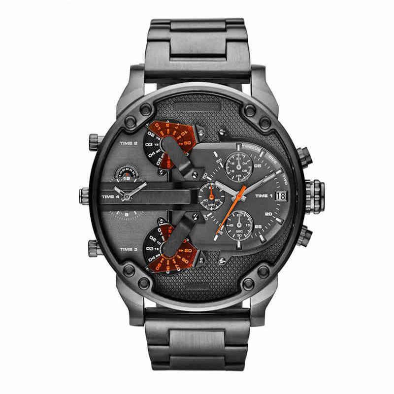 防水メンズ腕時計レロジオ Masculino 2020 メンズ腕時計トップブランドの高級クォーツ時計男性ファッション発光軍