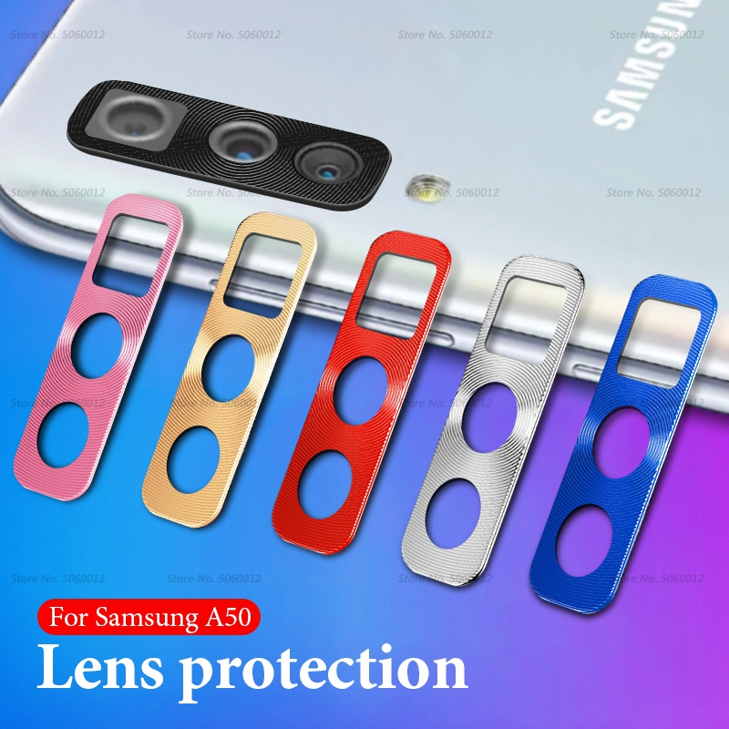 Camera Lens Protector Ring Plating Aluminum For Samsung Galaxy A50 A30 A 50 30 Silm Camera Case Cover Ring Protection Protective