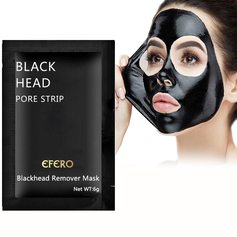 5PCS Blackhead Face Mask Remover Nose Mask Deep Cleansing Acne Treatment Pore Cleanser Black Masks Face Care Black Head Removal