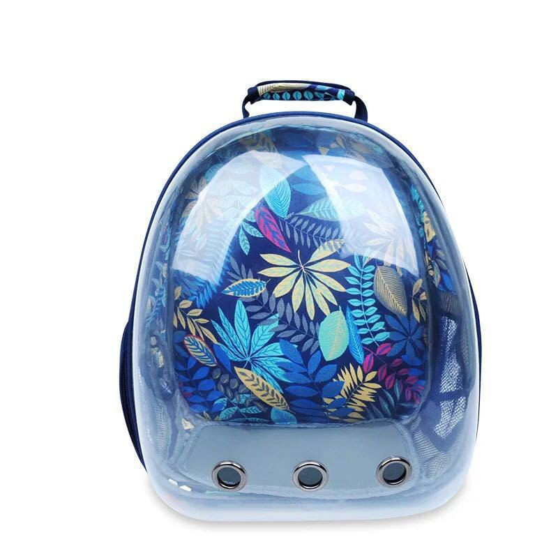Backpack Puppy-Supplies Carrying-Cages Pet-Cat-Carrier Travel Transparent Portable Capsule