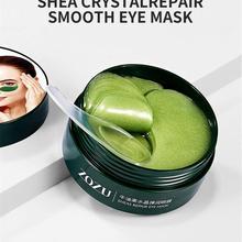 Hot 60pcs eye masks face masks avocado crystal elastic remove dark circles eye bags removal reduce eye wrinkles eye care TSLM1