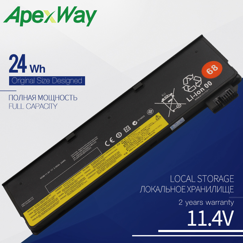 ApexWay <font><b>Battery</b></font> for <font><b>Lenovo</b></font> ThinkPad <font><b>T440</b></font> T440S T450 T450S KingSener Internal X240 X240S X250 X260 X270 L450 45N1110 45N1111 image