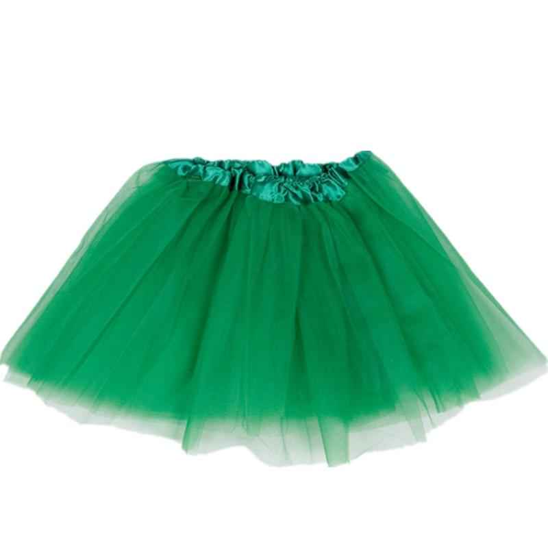 Short Tulle Mesh Skirt 30cm Dance Tutu Ballet Skirt Elastic Waistband For Girls Summer Ladies Beach Rockabilly Sexy Mini Skirt