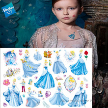 Hasbro Mermaid Princess Arie Children Cartoon Temporary Tattoo Sticker For Girl Toy Waterproof Gift