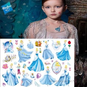 Hasbro Mermaid Princess Arie Children Cartoon Temporary Tattoo Sticker For Girl Cartoon Princess Toy Waterproof Girl Gift princess poppy mermaid princess