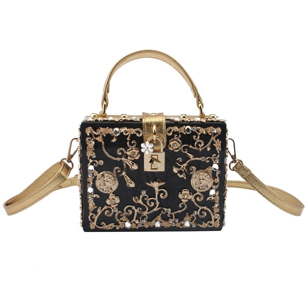 ใหม่หรูหรากระเป๋าผู้หญิง 2019 กระเป๋าสะพายกระเป๋า Crossbody กระเป๋า Clutches กระเป๋าสตางค์คริสตัลเพชรโลหะดอกไม้กระเป๋าถือกระเป๋าสตางค์-ใน กระเป๋าสะพายไหล่ จาก สัมภาระและกระเป๋า บน AliExpress - 11.11_สิบเอ็ด สิบเอ็ดวันคนโสด 1