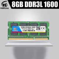 VEINEDA Memoria ram DDR3L 2gb 4gb 8gb 1333MHZ ram-memoria-ddr3L 1333Mhz For Intel AMD Sodimm ddr3L 2gb 4gb 8gb pc3-12800 204pin