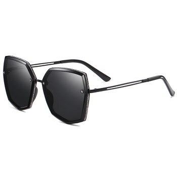 Top Quality Polarized Sunglasses Women Designer New 2021 Trend Driving Sun Glasses For Women Vintage Travel Eyewear UV400 Shades 11