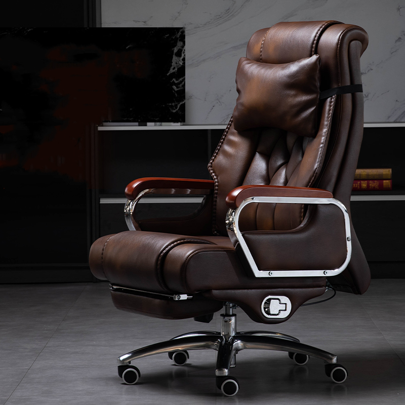 Office Furniture Wholesale Executive Chair Office Chair Computer Chair Office Genuine Leather Business Robam Chair