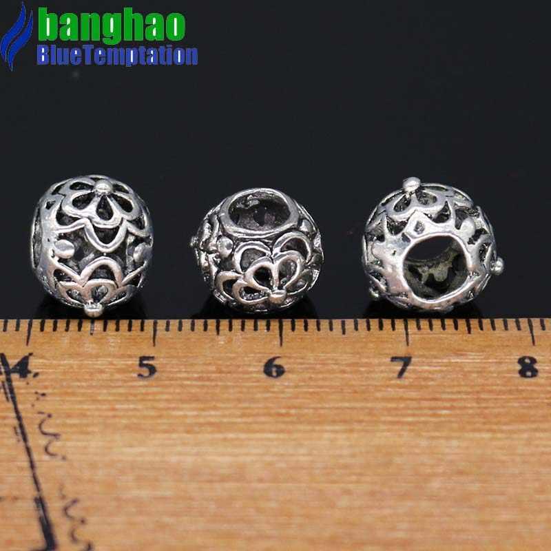 ขายส่งสร้อยข้อมือ Charms สำหรับ DIY เครื่องประดับทำอุปกรณ์ Charm Plata de Ley 925 ทำจาก sieraden สร้อยข้อมือลูกปัด ZAB063