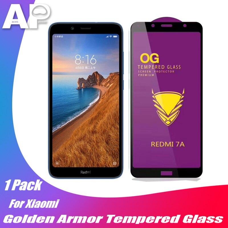 Acespower Golden Armor Screen Protector for Xiaomi 8 9 SE Redmi Note 5 6 Red Xiao