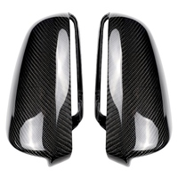 For Audi A3 P8, A4 A5 B7, A6 C6 2003 2008 Carbon Fiber Side Wing Mirror Covers Caps Replacement Decoration