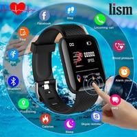 New Top Smart watch Screen Glass Blood oxygen Activity Tracker Heart Rate Monitor Fitness Tracker Sport Touch Screen Big Battery Smart Watches    -