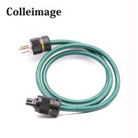Colleimage XLO OFC Audio Power Cable HiFi EU/US Power plug Figure 8 C7 IEC Connector CD/DVD/ Player Audio AC Power Cord