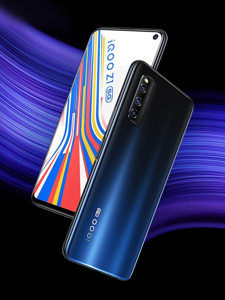 Vivo Iqoo Z1 5G 128GB 6GB CDMA2000/5G/CDMA/.. Nfc Dash Charge Bluetooth 5.0/5g wi-fi/Liquidcool/Qwerty keyboard