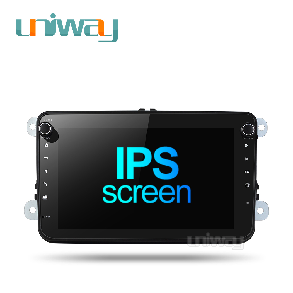 Uniway DZ301 DSP car dvd gps player for vw <font><b>passat</b></font> <font><b>b6</b></font> b7 golf 5 6 tiguan polo octavia rapid fabia multimedia navigation player image