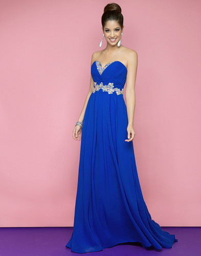 2018 Top Limited Empire Carpet Free Shipping Party Long Chiffon Sweetheart Beading Crystal Formal Prom Gown Bridesmaid Dresses