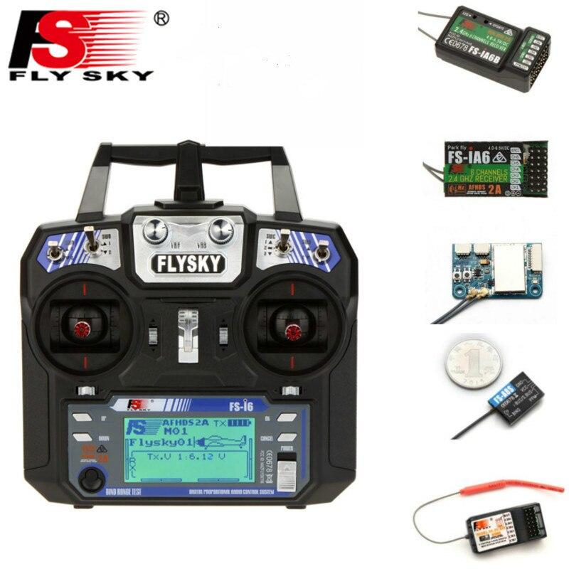 Flysky FS-i6 i6 2.4g 6ch afhds transmissor com ia6b x6b a8s r6b ia10b receptor controlador de rádio para rc fpv zangão avião