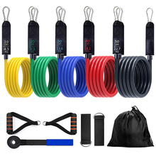 Yoga Elastic Latex-Tubes Exercises-Resistance-Bands Fitness Training-Workout Pull-Rope