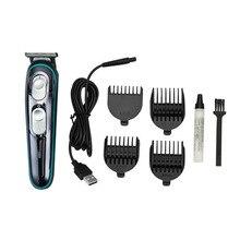 ספר גוזז שיער קוצץ חשמלי רב תכליתי ביתי סט שיער סלון ייעודי לדחוף USB טעינה שיער גוזז