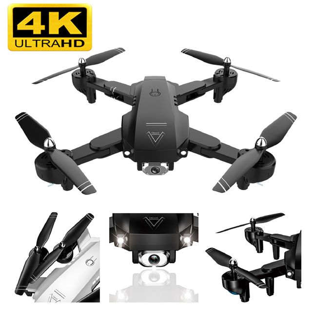 A908 Drones wi fi fpv Quadcopter Zangão 1080p HD Aéreo Profissional Siga Vôo 20 minuto Inteligente Helicóptero DO RC Dron brinqu