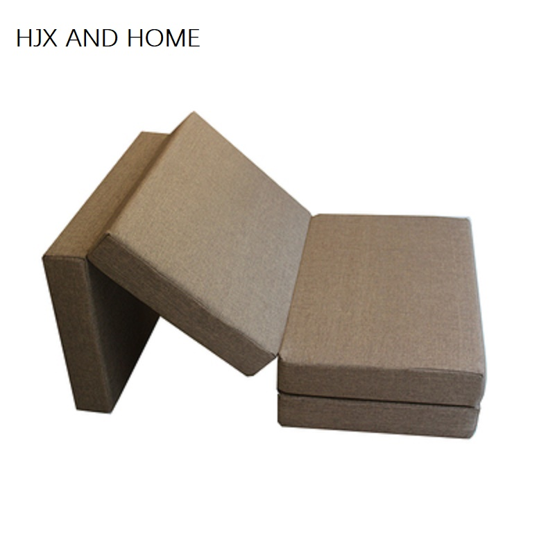 Random Color 8cm Thickness Sponge Filled With 100% Cotton Fabric  Mattress Foldable Healthy And Comfortable Convenient Tatami