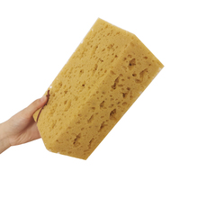 1 Pcs Absorbent Coral Sponge Macroporous Car Auto Washing Sponge Block Honeycomb Car Cleaning Cloth Yellow Car Cleaner Tools