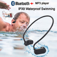 Newest APT X V31 Bone Conduction Bluetooth 5.0 With MP3 Player IPX8 Waterproof Swimming Outdoor Sport Earphones MP3 Music Player