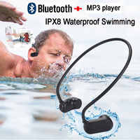 Newest APT-X V31 Bone Conduction Bluetooth 5.0 With MP3 Player IPX8 Waterproof Swimming Outdoor Sport Earphones MP3 Music Player