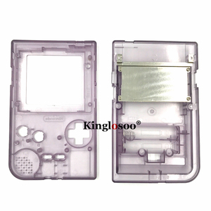 Image 5 - Luminous Full set housing shell cover case w/ rubber pad for gameboy pocket GBP shell buttons