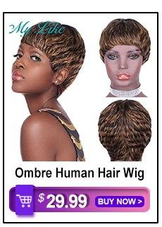 do corpo perucas de cabelo humano para