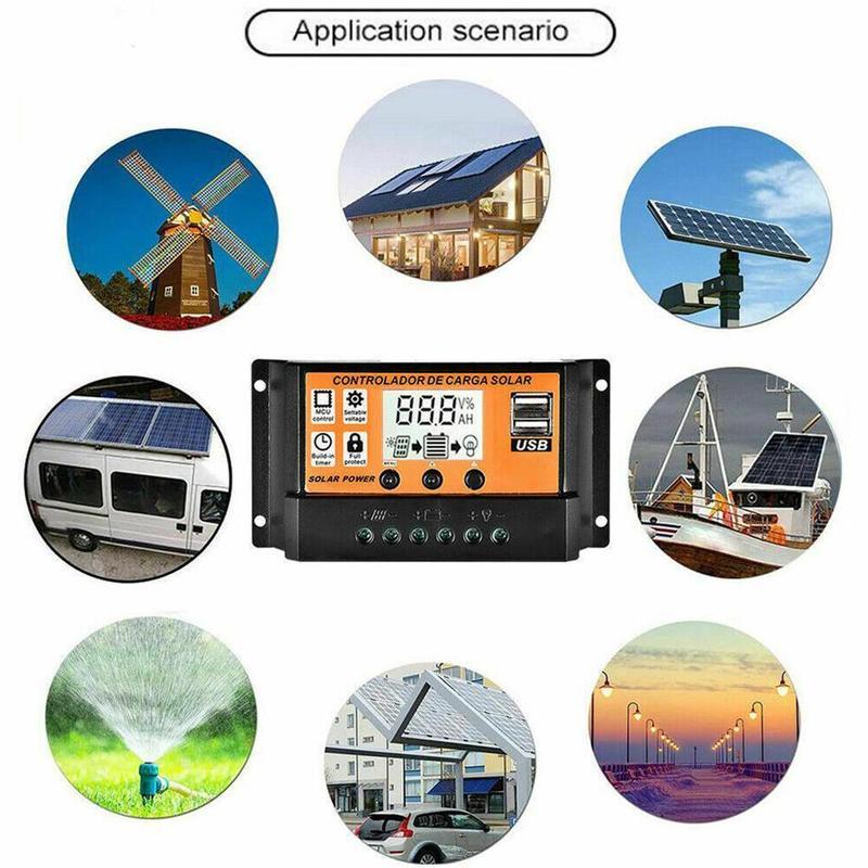 Solares IP67 Para Casa Gestão 40A 10A