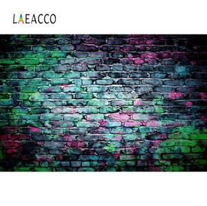 Image 5 - Laeacco Gray Cement Wall Gradient Solid Color Surface Texture Food Portrait Photo Backgrounds Photographic Backdrop Photo Studio