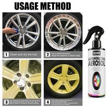 10pcs OBD2 Car DIY Peelable Wheel Paint Car Automotive Tire Peel Paint Spray