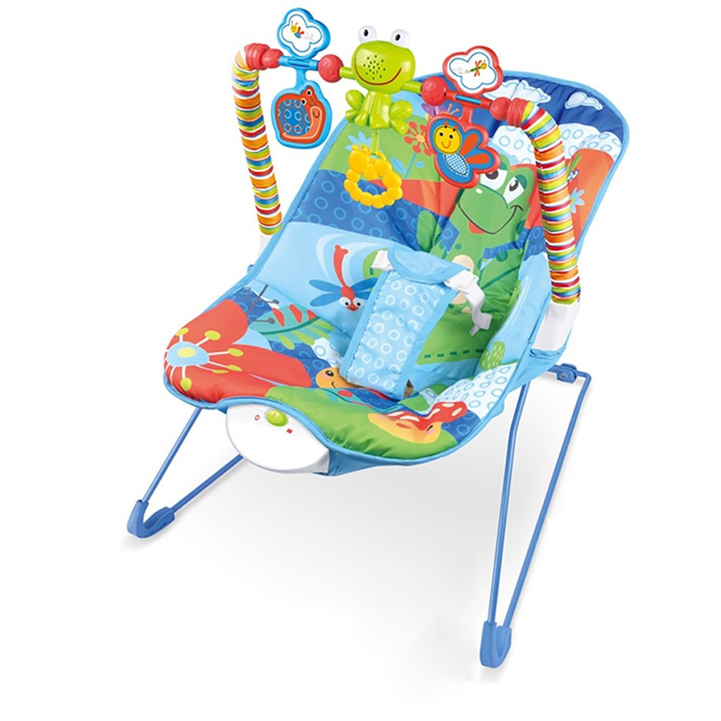 Hd2ff2859e0794510af459ae382e1e002s Baby electric rocking chair Multi-function music vibrating shaker Children's rocking chair recliner toy